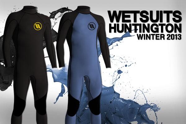 Ya llegaron los wetsuits HTN WINTER 2013!